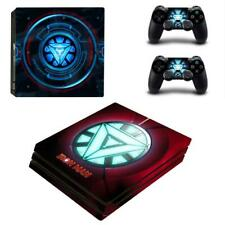 Reactor of Iron Man Marvel Sticker PS4 Pro Consoles Controllers Vinyl Skin Decal