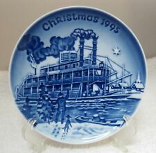 1995 Bing & Grondahl Christmas Plate Christmas Eve at the Mississippi In America