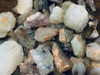 1000 Carat Lots of Unsearched Blue Opal Rough + a FREE faceted Gemstone