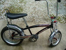 2005 2006 Schwinn Manta-Ray Sting Ray Bicycle Black Solid Nice 230lb Capacity