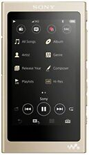Reproductor de audio Sony Nwa45 oro