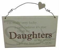 Christmas Daughter Decorative Plaques & Signs
