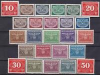 Generalgouvernement  3 Complete Sets Mint!!