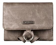 Brand New + Tags Roxy 'Dreamer' Ladies Girls Wallet Purse Tri Fold Frost Grey