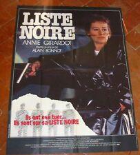 LISTE NOIRE (AFFICHE CINEMA 120x160) Annie GIRARDOT - Alain BONNOT
