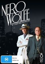 NERO WOLFE - THE COMPLETE WHODUNIT SERIES (8 DVD SET) BRAND NEW!!! SEALED!!!