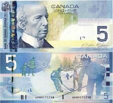 Canada 5 Dollars 2006/2010 year BrandNew Banknotes
