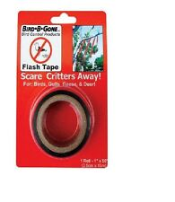 BIRD-B-GONE MYLAR FLASH TAPE scares critters away Birds Geese and gulls