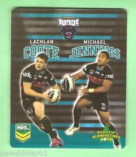 TIP TOP NRL 2013 RUGBY LEAGUE FOOTY SUPERSTARS CARD #42  COOTE / JENNINGS