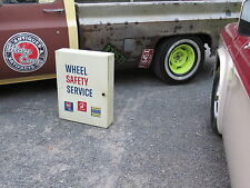 Wheel Safety Bearings Seals Parts Cabinet Hot RAT Rod Gas Station Display Sign