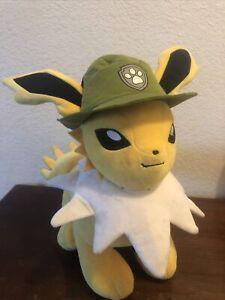 "Build-A-Bear Pokemon Exclusive Jolteon 14"" Plush w/o Sound Yellow BAB"