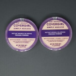 CoverGirl Simply Ageless Instant Wrinkle Blurring Pressed Powder 0.39oz YOU PICK