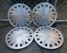 "Set of 4 OEM 1985-89 Dodge Aries Omni Reliant Horizon 13"" Hubcaps Wheel Covers"