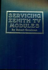 Servicing Zenith TV Modules [TAB 18], 1978 -analysis & repair of plug-in modules