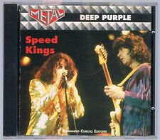 DEEP PURPLE SPEED KINGS CD ARMANDO CURCIO ED.