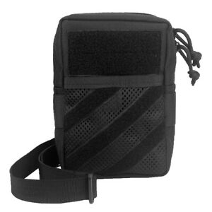 Black Nylon Tactical Molle Cross Bag Sundries Pack Multi-pocket Carry Cell Phone