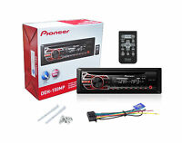 PIONEER CAR DECK DEH-150MP CD RECEIVER with Front Aux Input