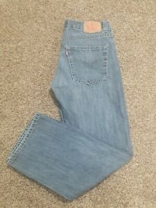 Levi's 550 Red Tag Relaxed Fit Student Jeans Size 16R 28 x 28