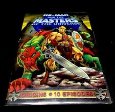 HE-MAN & THE MASTERS OF THE UNIVERSE: DVD Origins 10 Episodes
