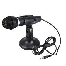Mini direccional de alta definición audio Micrófono Estéreo con Soporte 3.5mm Jack
