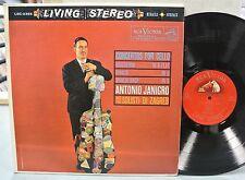 ANTONIO JANIGRO - CONCERTOS FOR CELLO LP - RCA LIVING STEREO LSC-2365 1S/1S