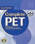 Complete: COMPLETE PET WORKBOOK WITH ANSWERS WITH AUDIO CD by Peter May...