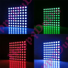 RGB 60x60mm Colorful Full Color LED 8x8 Dot Matrix Display Square Common Anode
