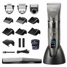 Hatteker Professional Hair Clipper Cordless Clippers Hair Trimmer Beard Shaver