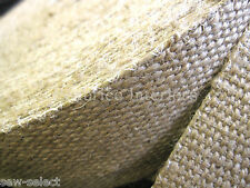 3 Rodillos de fuerte Yute tapicería Silla De Tela Asiento Asiento Rollos 99mt Lote a granel