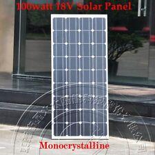 100w 12V Monocrystal Solar Panel Charge 12V Battery - 100 watts sfree shipping