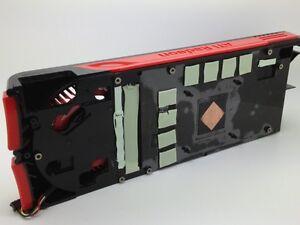 ATI public version of HD5870 1G 4 heat pipe graphics card radiator