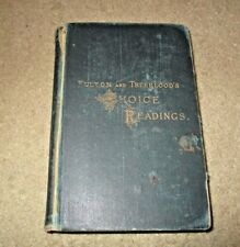 1902 Fulton and Truebloods Choice Readings Book Ginn and Co 710 Pages