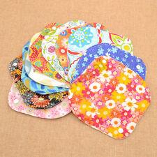 1 Pc Washable Menstrual Pads Women Panty Liners Cotton Sanitary Reusable Random