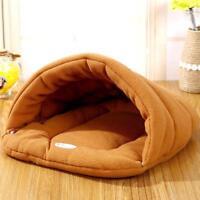 Cave Bed Small Dog Kennel Sofa Warm Polar Fleece Material Pet Mat Cat House