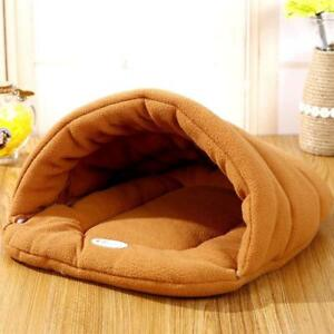 Cave Bed Small Dog Kennel Sofa Warm Polar Fleece Material Pet Mat Cat House