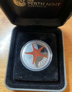 Australian Sea Life II - The Reef - Starfish 2011 1/2oz Silver Proof Coin No Coa