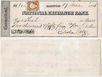 ELISHA COLT, Colt Arms Co. Financier, 1866 Signed Check