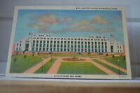 C 1945 New Post Office Minneapolis Minnesota Linen Postcard