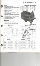 Niehoff Brushless Alternator A1-300 12V 85A