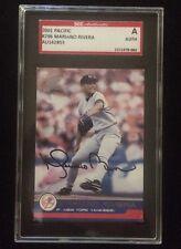 MARIANO RIVERA 2001 PACIFIC Autographed Signed Baseball Card SGC 296 YANKEES