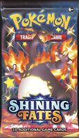 Pokemon TCG Factory Sealed Shining Fates Booster Pack 1X Random Artwork RARE!🔥