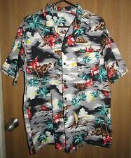 New listing Vintage Fast Breakers Mens Palm Tree Hibiscus Classic Hawaiian Shirt X-Large