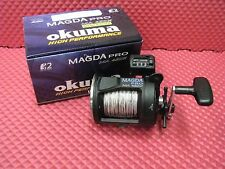 Okuma Magda Pro MA 45DX Line Counter Trolling Reel w/ 10 Color 27# Leadcore
