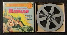 1965 Adventures of BATMAN #2 The Bat's Cave Super 8mm Home Movie in VG/FN Box