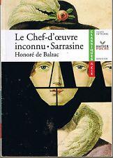 BALZAC * Le Chef D'Oeuvre Inconnu * Littérature Classique * XIX ° * T. intégral