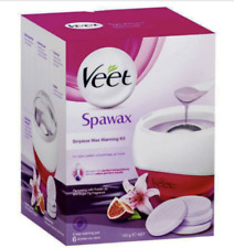 Veet Wax Warming Kit for Spawax Stripless Shaving Hair Removal One Was Disk