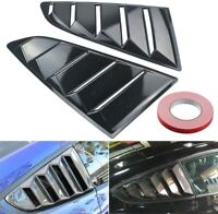 1/4 Quarter Side Window Scoop Louver Cover Vent  for Ford Mustang 15 16 17 18