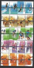 China Hong Kong 2004 Stamp Sports Diving Badminton