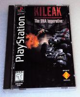 KILEAK The NDA Imperative PlayStation PS Video Game Complete Manual Disc BigCase