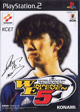 Used PS2 World soccer Winning Eleven 5 Japan Import (Free Shipping)